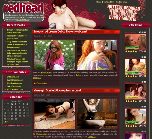 the best redhead webcam sex shows