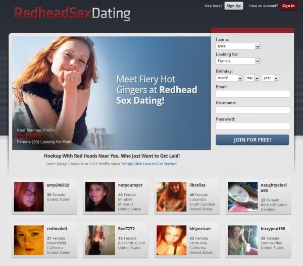 redhead sex dates
